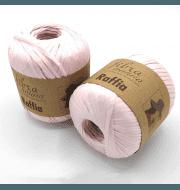 Пряжа Fibra Natura Raffia Цвет.116-17 св.розовый