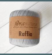 Пряжа Fibra Natura Raffia Цвет.116-11 серый