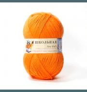 Пряжа Пехорка Школьная Цвет.284 Оранжевый