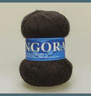 Пряжа Midara Angora 2 Цвет. 890 т.коричневый