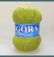 Пряжа Midara Angora 2 Цвет. 390 липа