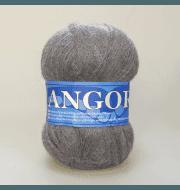 Пряжа Midara Angora 2 Цвет. 1001 дымч.серый