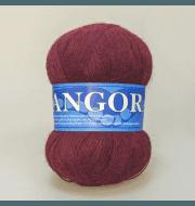 Пряжа Midara Angora 2 Цвет. 110 бордо
