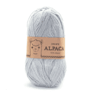 Пряжа DROPS Alpaca Цвет.7120 Light greyish green/сер.гол.