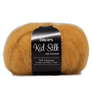 Пряжа DROPS Kid-Silk Цвет.30 Curry/Карри