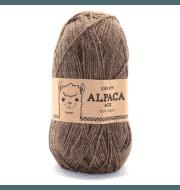Пряжа DROPS Alpaca Цвет.607m Light brown/св.коричн.мел.