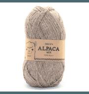 Пряжа DROPS Alpaca Цвет.618m Light beige/св.беж