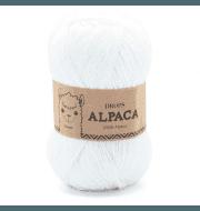 Пряжа DROPS Alpaca Цвет.1101 белый