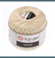 Пряжа YarnArt Violet Цвет.6194 Крем-брюле