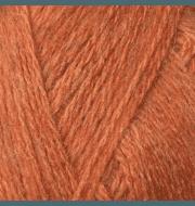 Пряжа Color City Козий пух Цвет.27750 Оранжевый