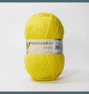 Пряжа Пехорка Школьная Цвет.27 Лимон