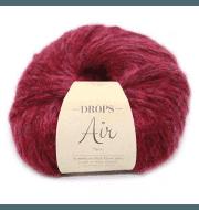Пряжа DROPS Air Цвет. 07 Ruby red