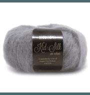 Пряжа DROPS Kid-Silk Цвет.10 Grey
