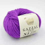 Пряжа GAZZAL Baby Wool XL Цвет.815XL Сиреневый