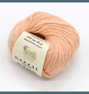 Пряжа GAZZAL Baby Wool XL Цвет.834XL Персик