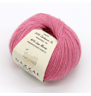 Пряжа GAZZAL Baby Wool XL Цвет.831XL Розовый