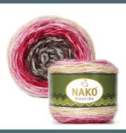Пряжа Nako PERU COLOR Цвет.32189