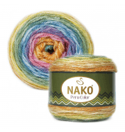 Пряжа Nako PERU COLOR Цвет.32190