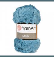 Пряжа YarnArt Mink Цвет.349 Мятно-бирюзовый