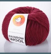 Пряжа RAINBOW BIRD RAINBOW WOOL Цвет.Burgund