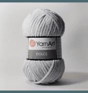 Пряжа YarnArt Dolce Цвет. 760 Серебро