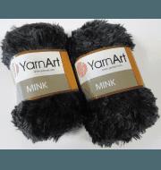 Пряжа YarnArt Mink Цвет.336 Темно серый