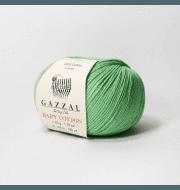 Пряжа GAZZAL Baby Cotton Gazzal Цвет.3466 Листва