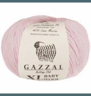 Пряжа GAZZAL Baby Wool XL Цвет.836XL Св.розовый