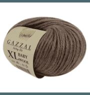 Пряжа GAZZAL Baby Wool XL Цвет.835XL Какао