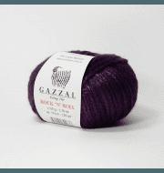 Пряжа GAZZAL Rock n Roll Цвет. 13911 Фиолетовый
