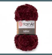 Пряжа YarnArt Mink Цвет.339 Бордо