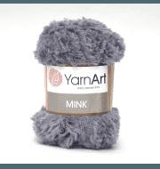 Пряжа YarnArt Mink Цвет.335 Серый