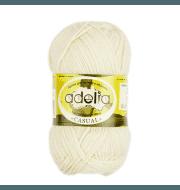 Пряжа Adelia Casual Цвет.02 Песочный