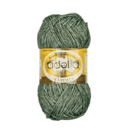 Пряжа Adelia Casual Цвет.10 Темно зеленый