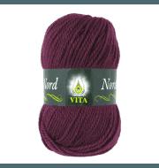 Пряжа VITA Nord Цвет.4777 Бордовый