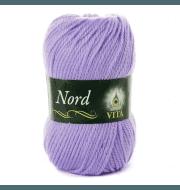 Пряжа VITA Nord Цвет.4780 Светло-сиреневый