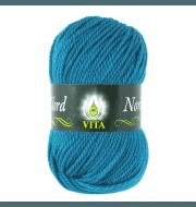 Пряжа VITA Nord Цвет.4776 Морская волна