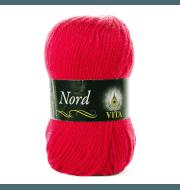 Пряжа VITA Nord Цвет.4781 Алый