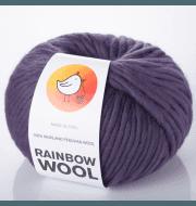 Пряжа RAINBOW BIRD RAINBOW WOOL Цвет.Smoky violet