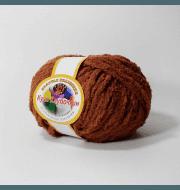 Пряжа Color City Кузя Клубочкин Цвет.38 Св.коричневый