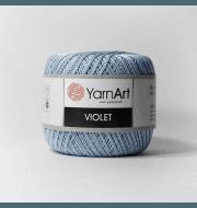 Пряжа YarnArt Violet Цвет.4917 Св.голубой