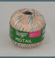Пряжа Семеновская Pigtail Цвет.Бел-N036