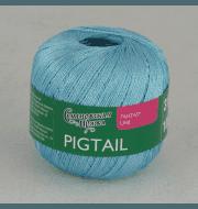 Пряжа Семеновская Pigtail Цвет.Аква