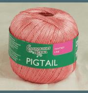 Пряжа Семеновская Pigtail Цвет.Бел-Коралл