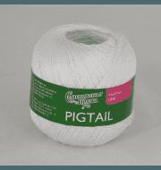 Пряжа Семеновская Pigtail Цвет.Бел-N023