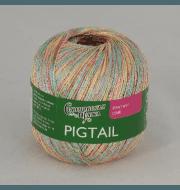 Пряжа Семеновская Pigtail Цвет.Бел-N077