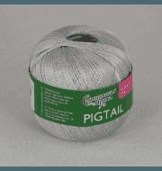 Пряжа Семеновская Pigtail Цвет.Перламутровый