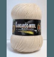 Пряжа Color City Kangaroo wool Цвет.111 Кремовый