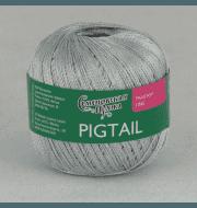 Пряжа Семеновская Pigtail Цвет.Серый 6