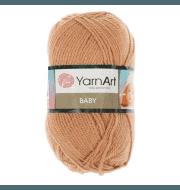 Пряжа YarnArt Baby Цвет.805 Светло бежевый
